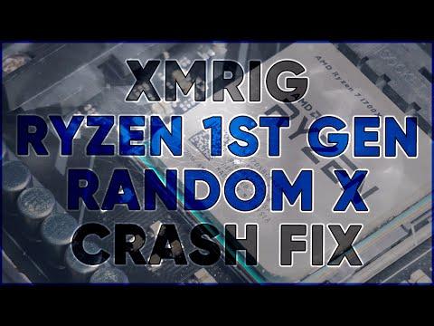 XMRIG Randomly Crashing While CPU Mining Random X (Opcache / Ryzen) Crash Bug FIX