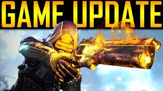 Destiny - ANOTHER GAME UPDATE! MARCH DLC?!