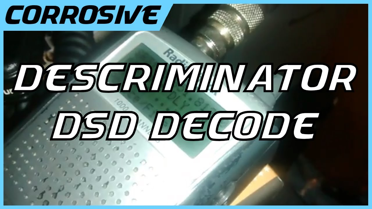 Decode Police Communications With DSD+