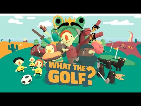 WHAT THE GOLF? - OUT NOW on Nintendo Switch™ - new 2-player party mode