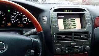 Lexus LS430 Спрятанное меню и опции про которые не все знают Скрытое сервисное меню hidden menu