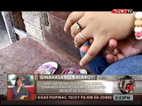 NEWS5E   T3 RELOAD BATA GINAHASA NG KALARO   MAY 21 2013