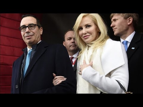 Treasury Secretary Mnuchin Requested Military Jet For His Honeymoon | Los Angeles Times