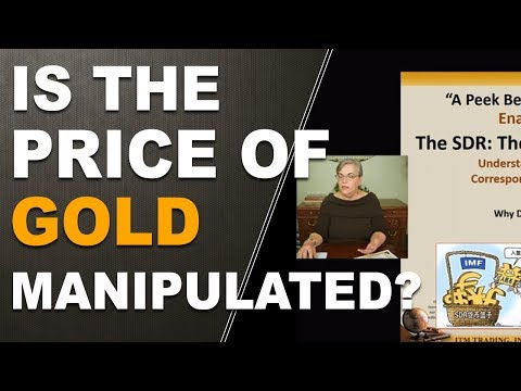 Is the price of gold manipulated? Exposed in 2016