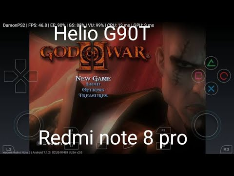 Download God Of War 2 Gameplay in Redmi Note 8 Pro   Damon PS2 Pro 2019