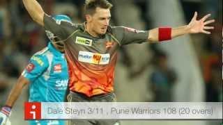 Dale Steyn & Thisara Perera give Sunrisers debut victory