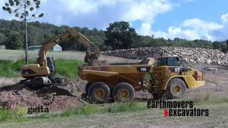 Cat 740 dump truck review