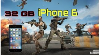 iPhone 6 32 GB Pubg Mobile Testi