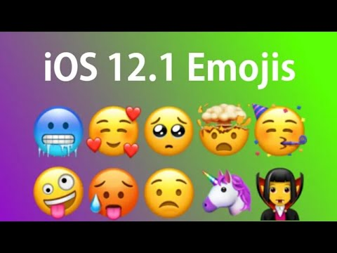 How To Install IOS 12.1 Emojis On Android (NO ROOT)