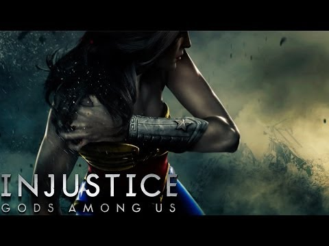 Injustice: Gods Among Us - Wonder Woman - Classic Battles on Very Hard