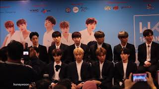 Video 180119 워너원제작보고회 Wanna One First Fanmeeting in Malaysia Press Conference download MP3, 3GP, MP4, WEBM, AVI, FLV Agustus 2018