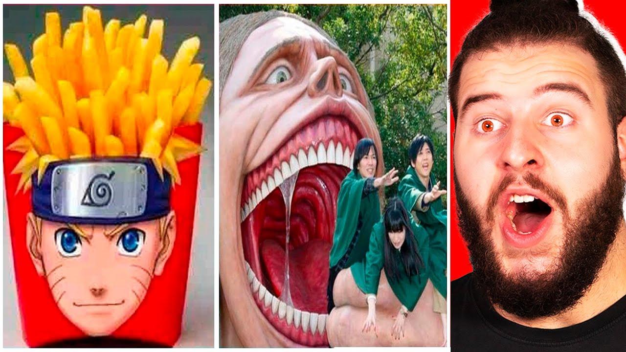 Gente Creativa Que Esta a Otro Nivel | Versión Anime !!