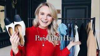 PARIS THRIFT HAUL + TRY ON + VLOG