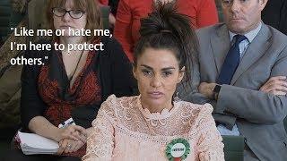 Katie Price 'glad' to have put son in public eye despite online abuse   ITV News