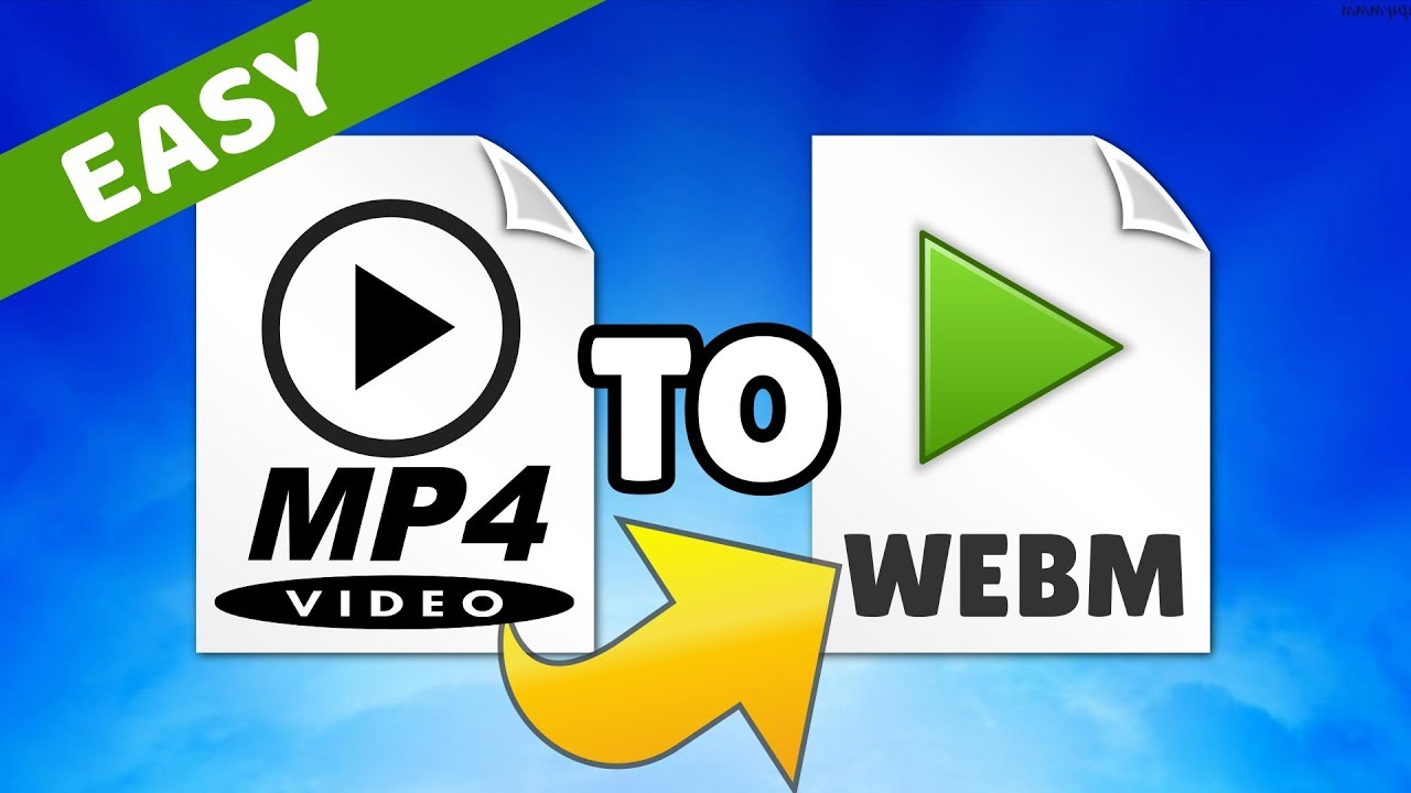 How to convert MP4 to WebM Video File Format Quick, Easy and Free