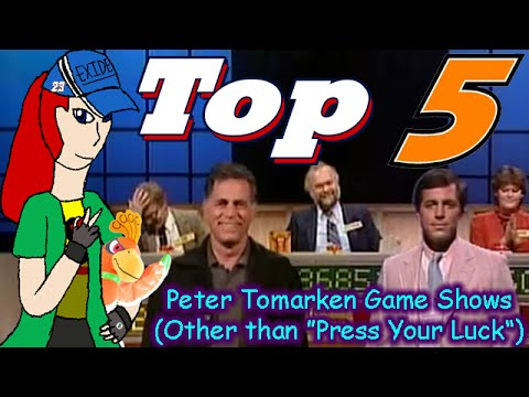 Top 5 Countdown  Peter Tomarken Game s Other than