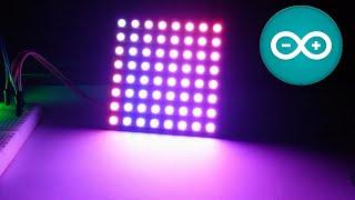 Como controlar una matriz de Led RGB NeoPixel con Arduino