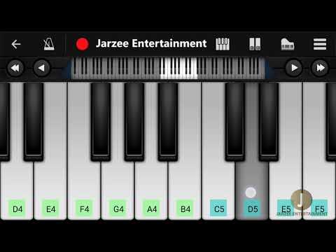 Don Theme Piano (Shahrukh Khan) - Easy Mobile Piano Tutorial | Jarzee Entertainment