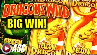 DRAGONS WILD | Multimedia - BIG WIN! Slot Machine Bonus