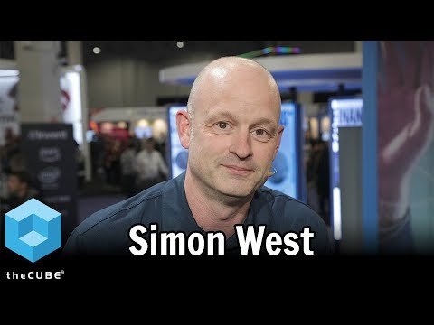 Simon West, Cyxtera AWS re:Invent