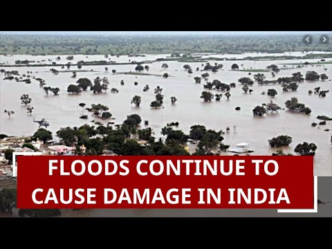 Watch shocking images of flood-hit areas in several parts of India