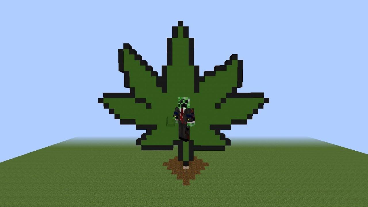 pixel art weed