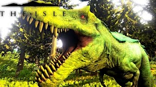 The Isle - REX TO HYPO REX PROGRESSION, PLAYING AS HYPERNDOCRIN REX, FIGHTING PUERTA ( Gameplay )