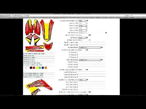 Ordering DeCal Works Semi Custom Graphics Kit