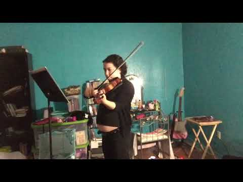 2/10 - Me Playing Violin - Brandenburg Concerto 3-1 - by Bach