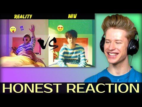 HONEST REACTION to BTS (방탄소년단) MV Vs. REALITY #2