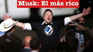 3 Noticias de Tesla: Elon musk es la persona más rica del mundo