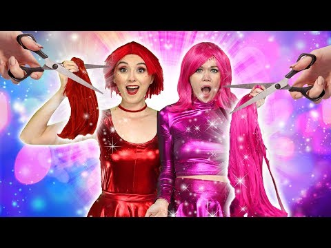 THE SUPER POPS CUT MAGIC HAIR. Totally TV Videos For Teens.