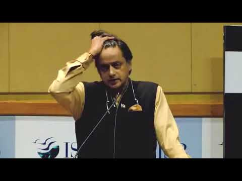 Dr. Shashi Tharoor @ Indian School of Business