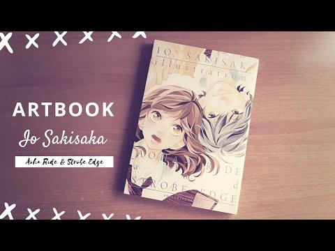 uno-de-los-mejores-artbook- -io-sakisaka-illustrations- -aoha-ride-&-strobe-edge