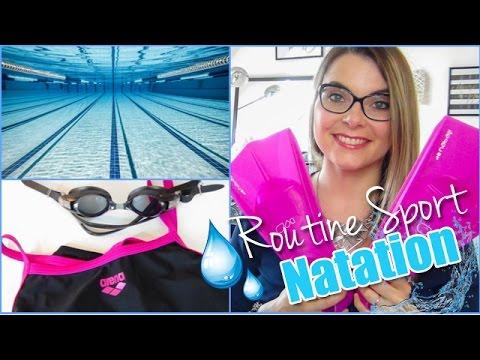 Routine Sport Natation⎪Entrainement, Mon sac & Produits de beauté