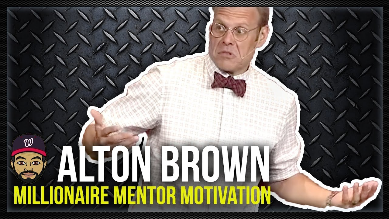 Alton Brown: Why GOOD EATS Won - Millionaire Mentor Motivation - YouTube