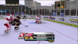 NHL 2K10 - Winter Classic at Wrigley Field Period 2