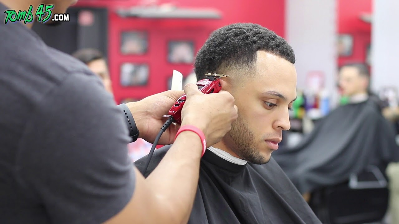 Steph Curry Haircut Tutorial On Taper Fade Youtube