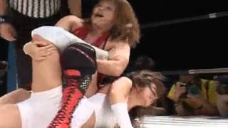 Yuzuki Aikawa vs Nanae Takahashi Her Debut Match.avi 愛川ゆず季 検索動画 9