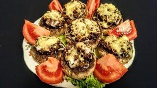 Вкусные Фаршированные шампиньоны рецепт Секрета приготовления