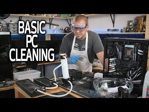Cleaning The Sh!t out of My Water Cooled PC