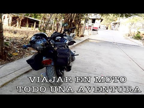 viajar en moto, todo una aventura/adventure travel motorcycle