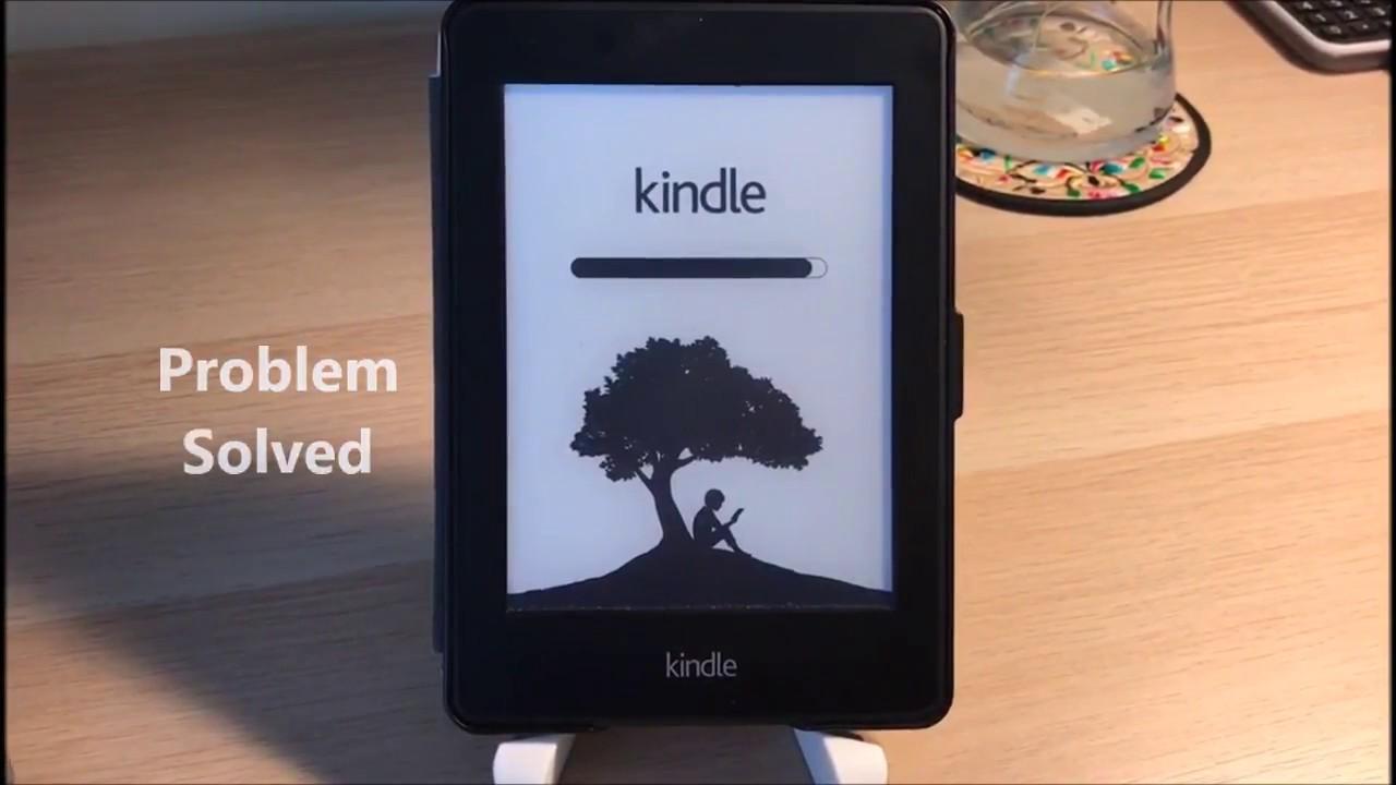 Solution for Kindle is keeping restarting (reboot) loop