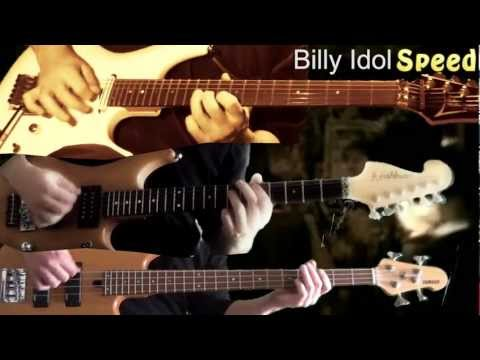 Billy Idol - Speed (Guitar & Bass cover)