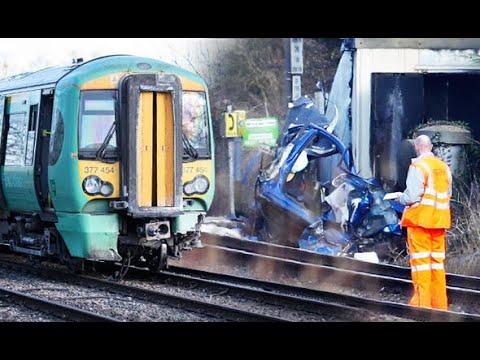 BREAKING: Barns Green level crossing tragedy kills two as car is hit by train near Horsham