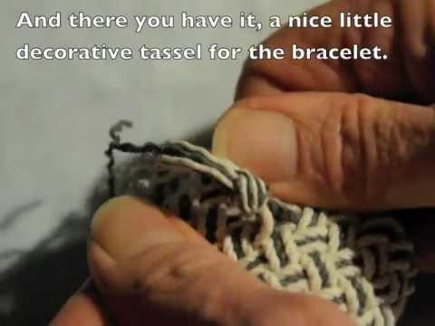 Fancy tassel knot using a Matthew Walker