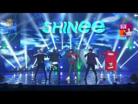 SHINee   View + Married To The Music 160121  30th Golden Disk Awards
