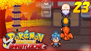 "Pokemon Heart Gold ShadyLocke w/ ShadyPenguinn Ep23 ""Claire is Careless!"""