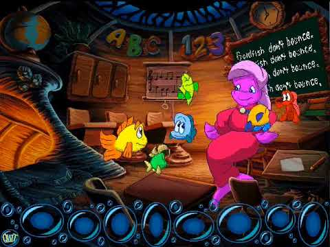 Let's Play Freddi Fish 2! - Part 1: A Four-armed Ghost?