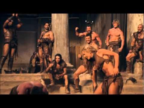 girls beat naked man video